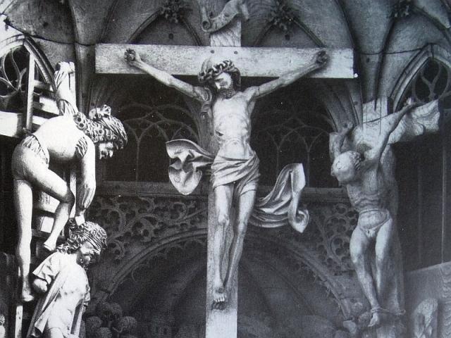 kruis hochaltar kalkar 1491