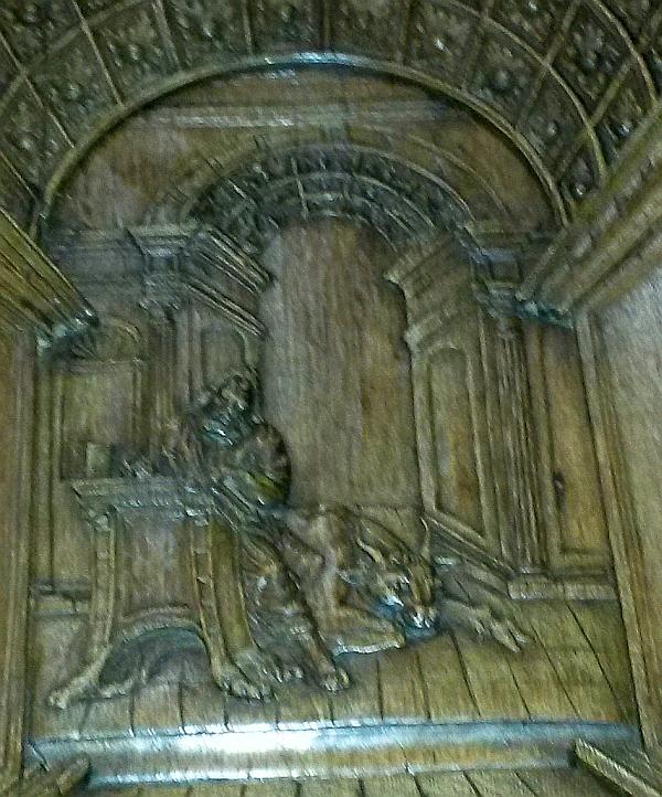 preekstoel oudekerk delft lucas