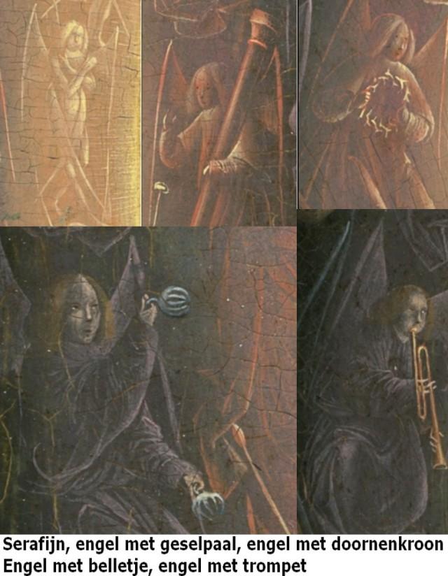 vijf engelen