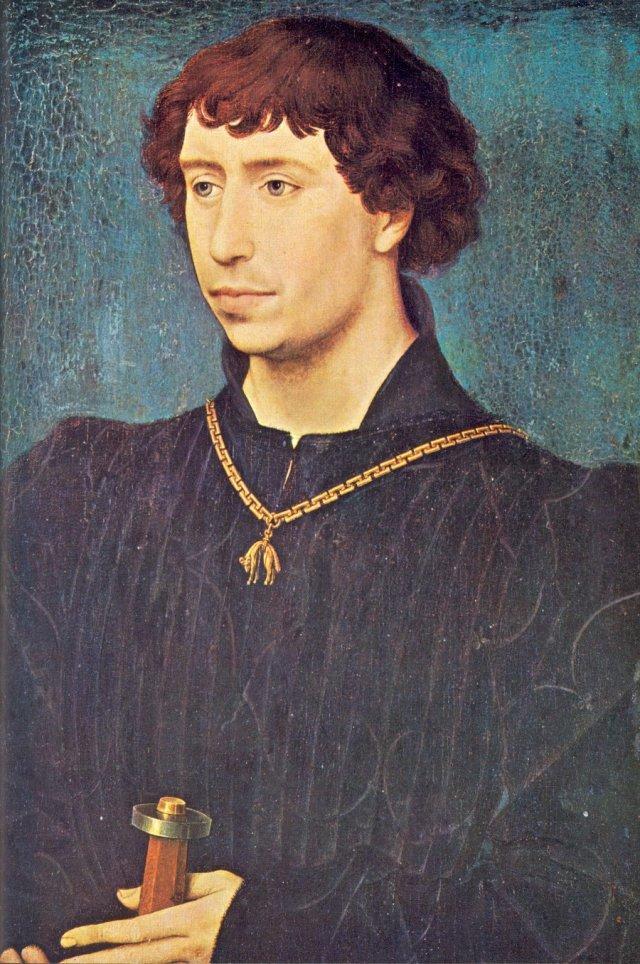 Karel de Stoute 1460 Rogier van der Weijden