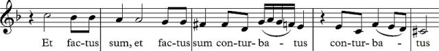 conturbatus