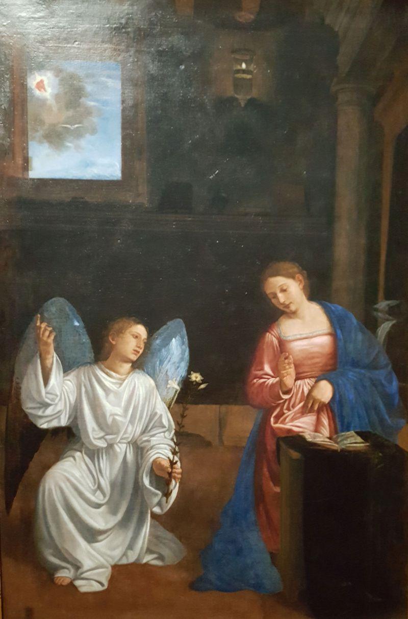 schilderij god