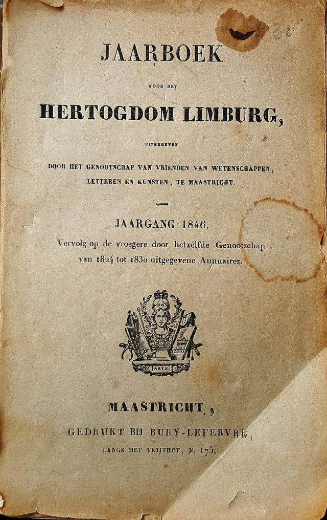 jaarboek 1846