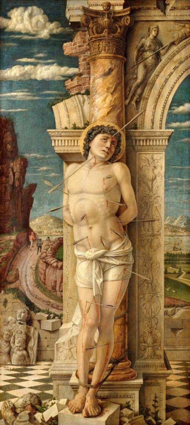 sebastiaan-mantegna 1470