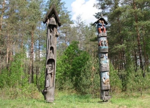 sculpturen ciurionis weg
