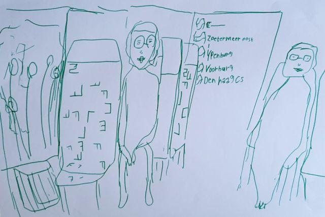 tantes-in-trein